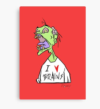 Brains! Canvas Print