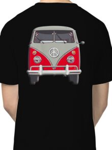 Volkswagen, Van, RED, Camper, Split screen, 1966 Volkswagen, Kombi (North America) Classic T-Shirt