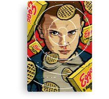 eleven from stranger things  Canvas Print