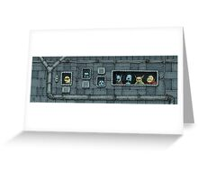 Intergalactic Cafe Greeting Card