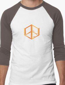 Peace in Escher Men's Baseball ¾ T-Shirt