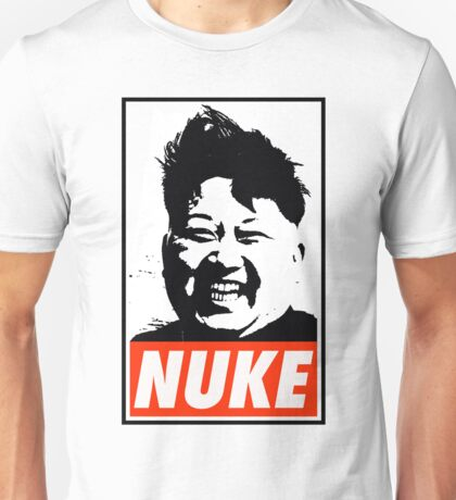 KIM JONG UN NUKE Unisex T-Shirt