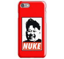 KIM JONG UN NUKE iPhone Case/Skin