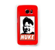 KIM JONG UN NUKE Samsung Galaxy Case/Skin