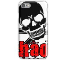 chaos red iPhone Case/Skin