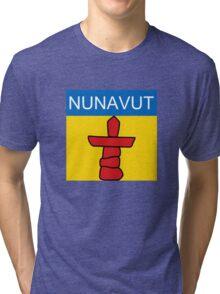 Nunavut Logo (Canada) Tri-blend T-Shirt