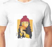 Peek-A-Boo Leaf Unisex T-Shirt