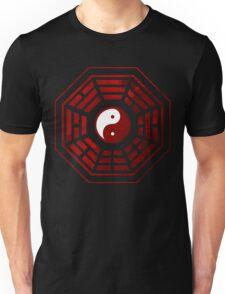 Yin Yang Red Pangua Unisex T-Shirt