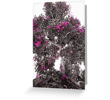 Small pink flowers Greeting Card