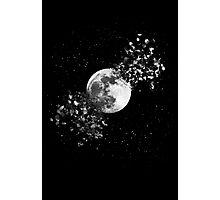 Moon Explosion Photographic Print