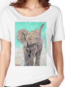 Baby Elephant Women's Relaxed Fit T-Shirt