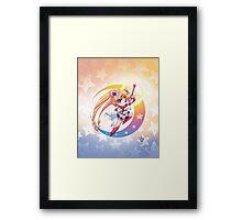 Chibi Super Sailor Moon Framed Print