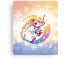 Chibi Super Sailor Moon Metal Print