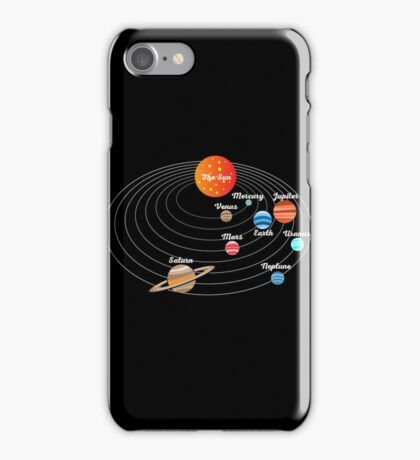 Solar System for Kids iPhone Case/Skin