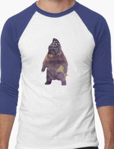 Bears Beets Battlestar Galactica Men's Baseball ¾ T-Shirt