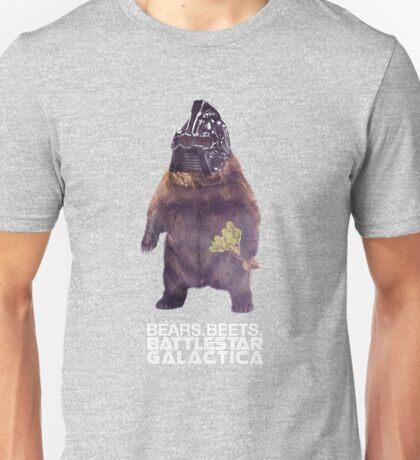 Bears Beets Battlestar Galactica Unisex T-Shirt