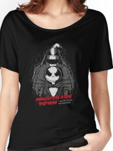 Nightmare Town Women's Relaxed Fit T-Shirt