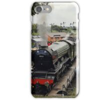 Turning The Flying Scotsman iPhone Case/Skin