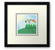 Tulips Art Framed Print