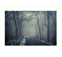 Nebel  Art Print