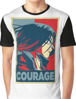 Courage! Trunks Graphic T-Shirt