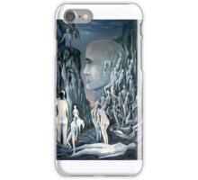 Blaue Schlucht iPhone Case/Skin
