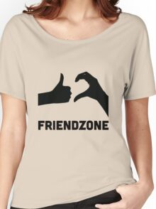 Friendzoned Women's Relaxed Fit T-Shirt
