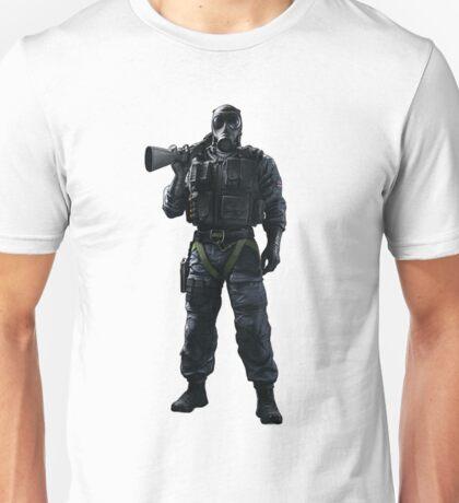 Smoke Rainbow 6 Siege - full Unisex T-Shirt
