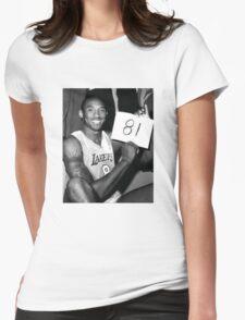 Kobe Womens Fitted T-Shirt