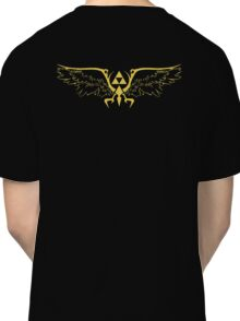The legend of zelda triforce wings  Classic T-Shirt
