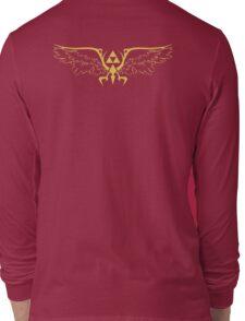 The legend of zelda triforce wings  Long Sleeve T-Shirt