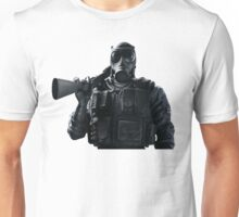Smoke Rainbow 6 Siege - portrait Unisex T-Shirt