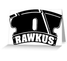 Rawkus Records Greeting Card