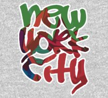 New York City (Graffiti Style) Kids Clothes