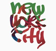 New York City (Graffiti Style) by robotface
