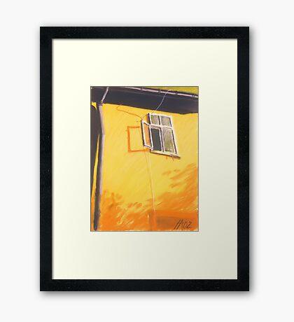 aufgewacht Framed Print