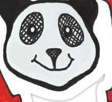 Alpha Omicron Pi Panda Logo Sticker