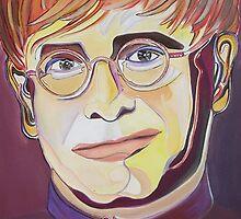 Elton John - 1 -  by Giselle Luske