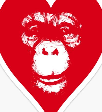 Everything's More Gratuitous With Monkeys! Sticker