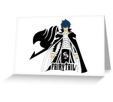 Gerard or Jellal - Fairy Tail Anime Greeting Card