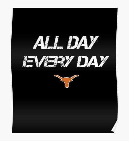 Texas Longhorns Baby T-shirt Poster