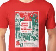 Santa Vs the Martians Unisex T-Shirt