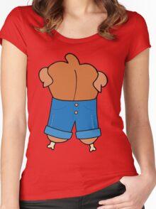 Denim Chicken Women's Fitted Scoop T-Shirt