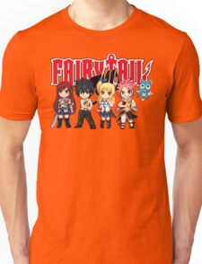 Fairy Tail Anime Group - Cute Character Unisex T-Shirt