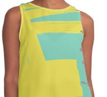 Abstract In Green and Yellow Contrast Tank