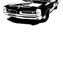 Pontiac GTO Hardtop Coupe 1966 by garts