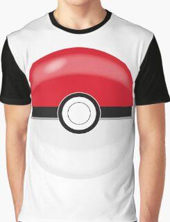 Red Pokaball, Pokemon GO  Graphic T-Shirt