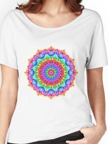 Marker Mandala Women's Relaxed Fit T-Shirt