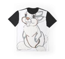 Bunny Sketch  Graphic T-Shirt