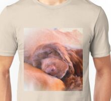 Sussex Spaniel Sleeping Unisex T-Shirt